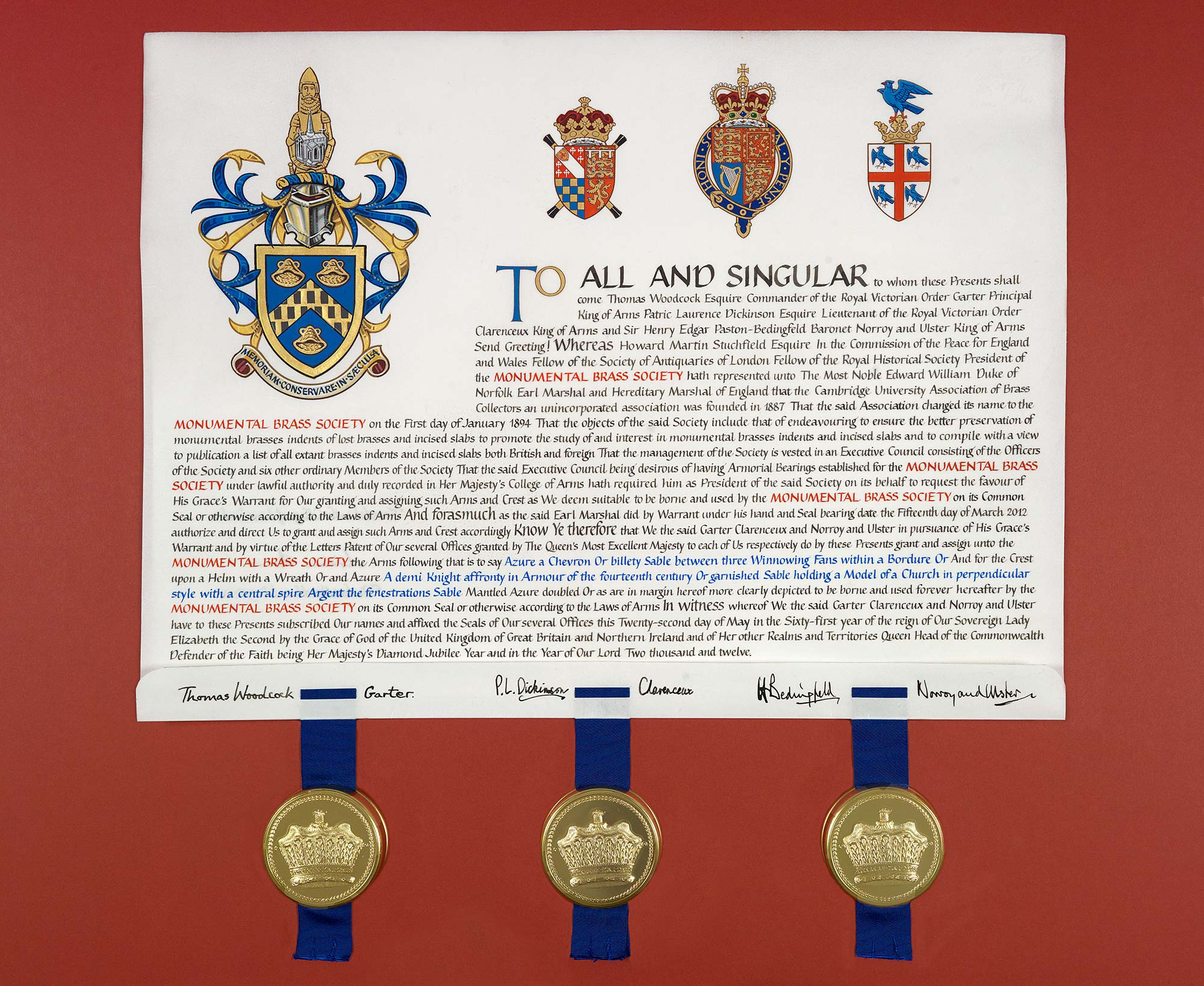 MBS letters patent