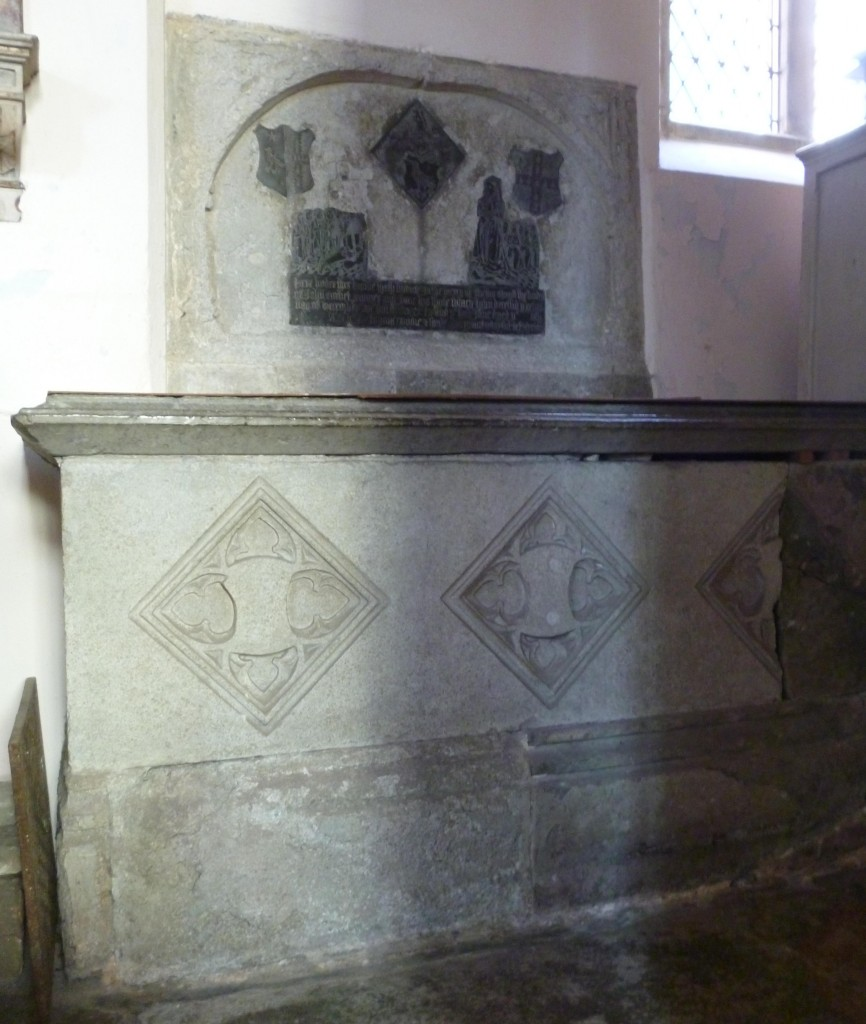 marble tomb of the Corbet family