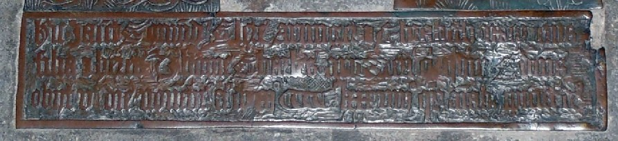 Photograph of the inscription