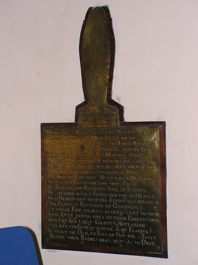 Photograph of the brass