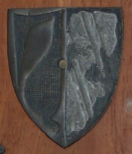 Photograph of shield