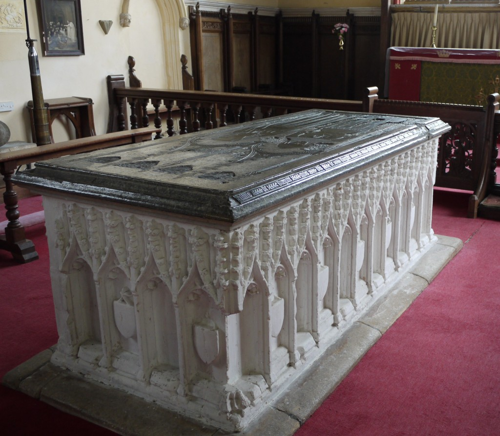 Photograph of the tomb